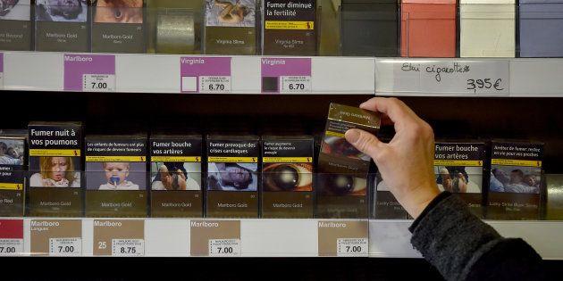 Voici les paquets de tabac dont le prix va augmenter le 2