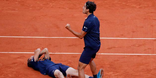 La paire Nicolas Mahut - Pierre-Huges Herbert remporte son premier