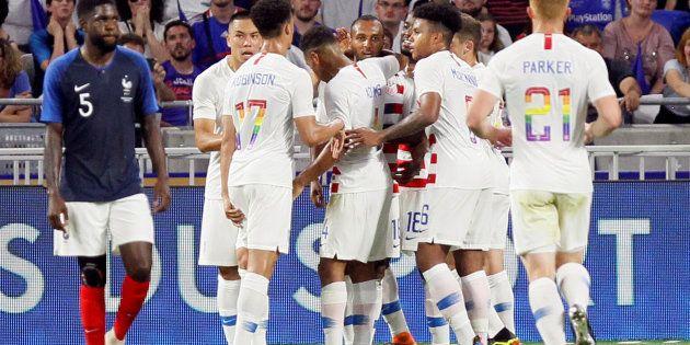 France - États-Unis: pourquoi les numéros des joueurs américains sont-ils