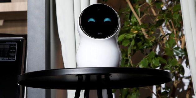 Au CES 2018, le robot de LG CLOi échoue lamentablement sur