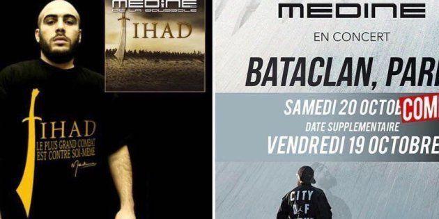 Le rappeur Médine, auteur d'un album