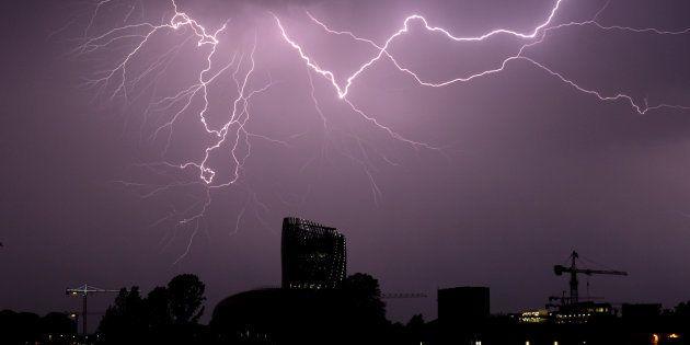 Des éclairs à Bordeaux en juillet