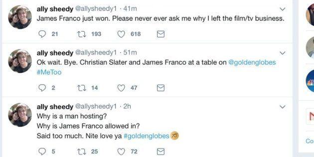 James Franco accusé de harcèlements et d'agressions sexuelles après sa prise de position aux Golden