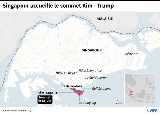 Sommet Trump - Kim Jong-un: hôtel de luxe et île ultra-sécurisée, ce qui attend les deux
