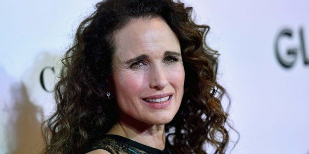 L'actrice Andie MacDowell, le 12 novembre 2018 à New