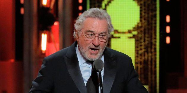 Robert De Niro lors de la 72ème cérémonie des Tony Awards à New York, dimanche 10 juin