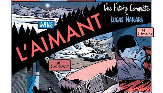BLOG - Le dessin de Lucas Harari, auteur de