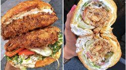 Ces photos de sandwichs gargantuesques ont une similarité étonnante avec le