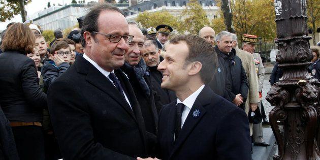 Pour s'opposer à Macron, Hollande a trouvé son expression préférée avec la