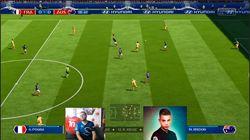 On a demandé à deux pro-gamers de jouer France - Australie sur FIFA 18 (et on l'a