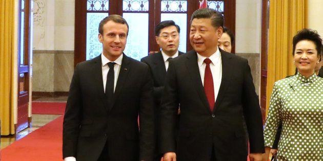 En Chine, Emmanuel Macron et les entreprises françaises ne décrochent que quelques