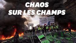 Les images du chaos sur les Champs-Élysées après le passage des gilets
