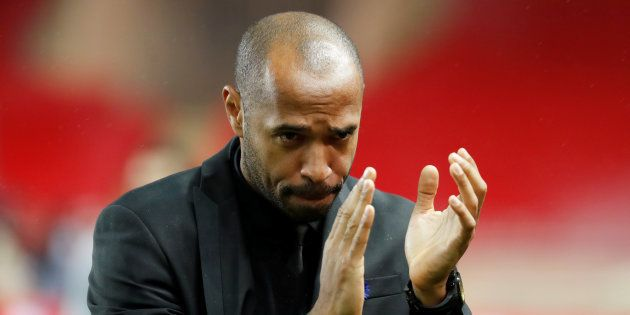 Thierry Henry au stade Louis