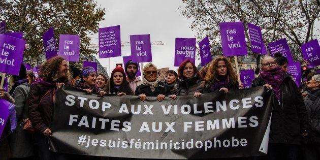 La marche #NousToutes à Paris samedi 24