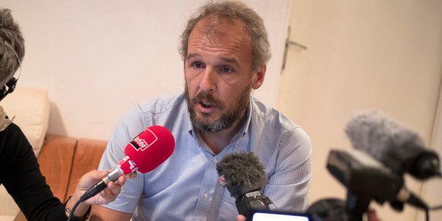 Sébastien Chadaud-Pétronin, ici le 24 novembre à Nouakchott, est au Sahel pour tenter de faire libérer...