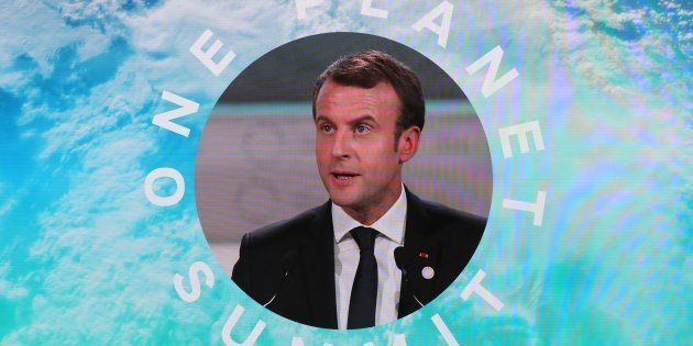 Une réponse aux gilets jaunes? Macron (ici au One Planet Summit en décembre 2017) va lancer un Haut conseil...