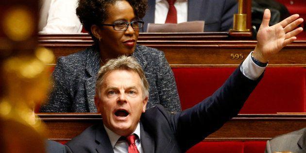 Fabien Roussel, le nouveau patron du PCF, à l'Assemblée nationale le 16