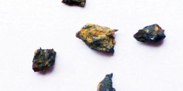 Cette pierre n'est pas juste extraterrestre, ses composés n'existeraient même plus dans le système