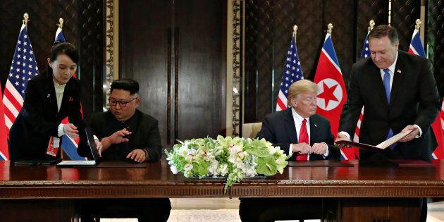 Singapour: Kim Jong Un s'engage vers