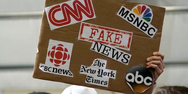 Fake news, journalistes et
