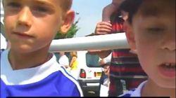 Quand le petit Griezmann demandait des autographes aux joueurs de l'équipe de France