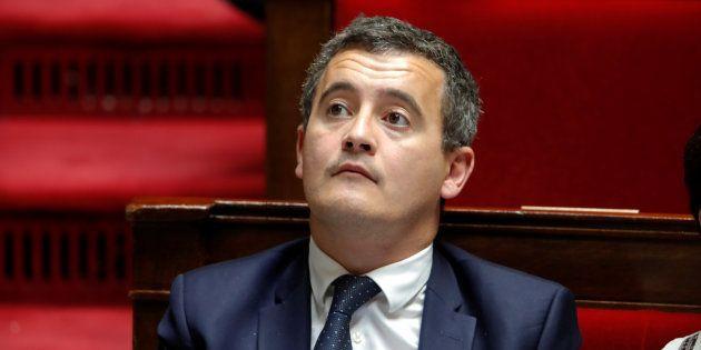 Le ministre des Comptes publics Gérald Darmanin voulait distinguer les gilets jaunes des casseurs des...