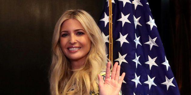 Ivanka Trump lors d'un sommet américain à Lima en avril