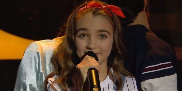 Angélina a représenté la France lors de l'Eurovision 2018, ce dimanche 25 novembre à Minsk en