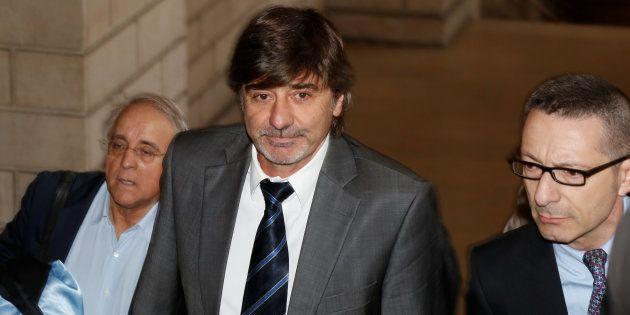 Michel Neyret au palais de justice à Paris en mai