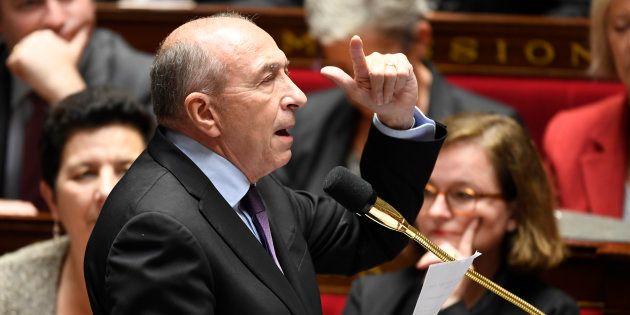 Gérard Collomb à l'Assemblée nationale le 21 novembre