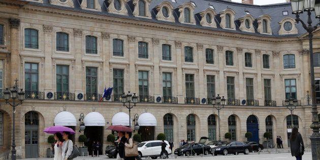 Attaque à main armé au Ritz à Paris, trois personnes