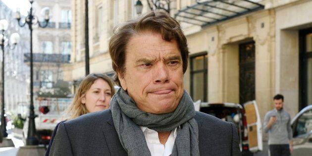 Bernard Tapie à Paris en