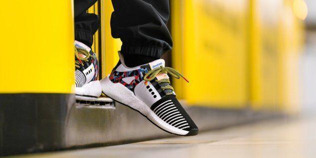 À Berlin, la dernière basket Adidas vous permet de prendre