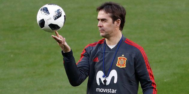 L'actuelsélectionneur espagnolJulenLopetegui deviendra entraîneur duReal Madrid après la Coupe du
