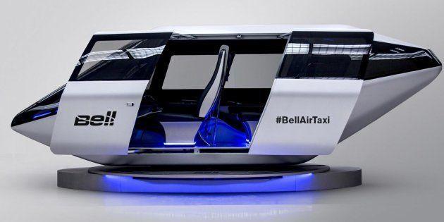 CES 2018: Voilà à quoi pourrait ressembler le taxi volant