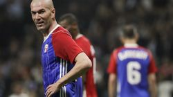 Le sublime coup franc de Zizou pour son retour avec l'équipe de France