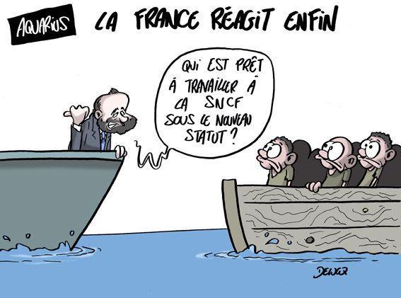 Ce que propose le gouvernement français aux migrants de