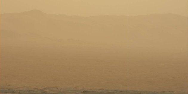 Une gigantesque tempête martienne bloque les communications avec un rover de la