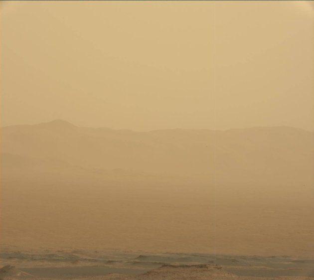 Une gigantesque tempête martienne bloque les communications avec Opportunity, le véhicule robot de la