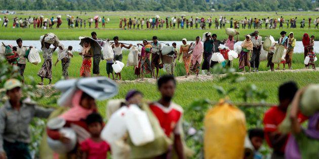 L'armée birmane reconnait pour la première fois avoir abattu des
