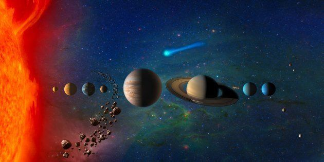 C'est prouvé, Jupiter et Saturne ont mis la pagaille dans notre système