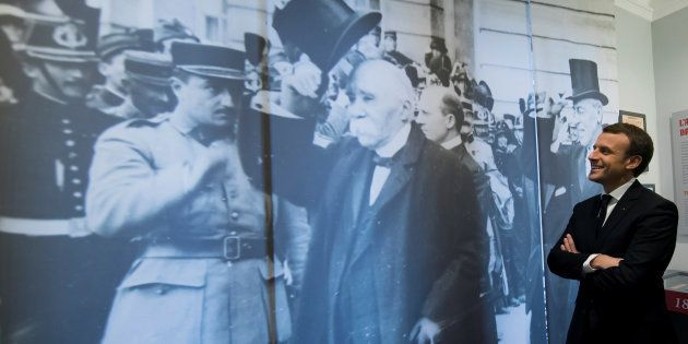 Emmanuel Macron et le symbole à double tranchant de Clemenceau, auquel il rend hommage en