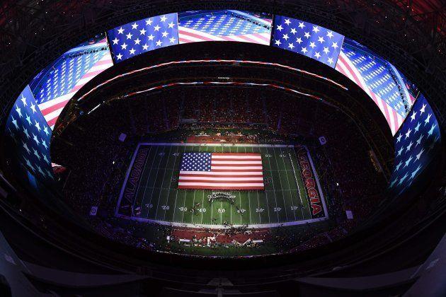 Mercedes-Benz Stadium. Atlantal. Credit: Brett Davis-USA TODAY