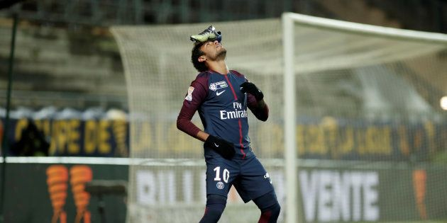 Neymar explique la raison de son étrange célébration lors
