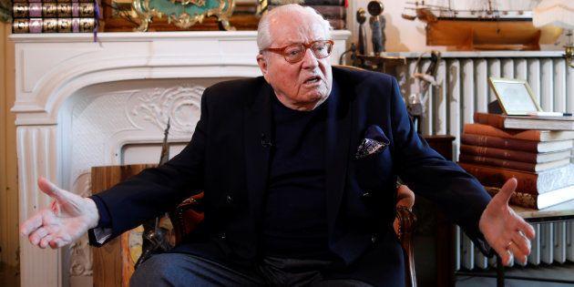 Jean-Marie Le Pen hospitalisé le jour de son procès pour ses propos sur Xavier Jugelé et