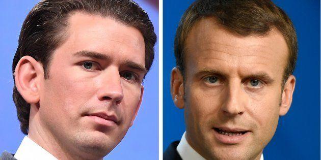 Pourquoi Macron reçoit Sebastian Kurz le chancelier autrichien, allié de l'extrême