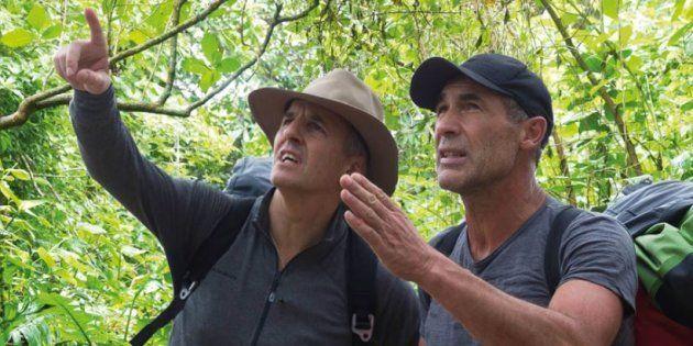 Bernard de la Villardière a accompagné Mike Horn aux Philippines pendant plusieurs jours à l'hiver