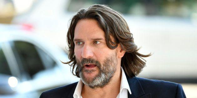 Frédéric Beigbeder à Cannes le 16 mai