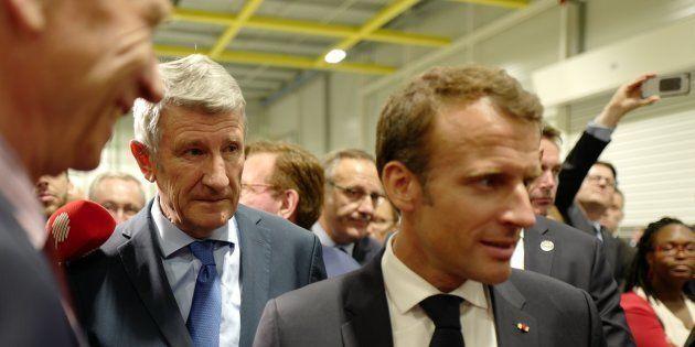 Philippe de Villiers et Emmanuel Macron entretiennent une relation