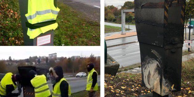 Des centaines de radars automatiques ont été vandalisés ou détruits en marge du mouvement des gilets